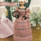 Annie's Attic:Victorian Gown Barbie Fashion Doll Size Crochet Pattern