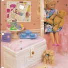 Annie's Attic Doll Size Trinket Trunk Plastic Canvas Pattern