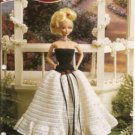 Annies Attic Fashion Doll Crochet Club The Sophisticate Gown Crochet Pattern