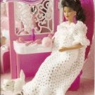 Annie's Attic: Barbie Doll Size Crochet Nightgown and Panties Pattern