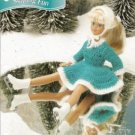 Annie's Attic Barbie Size Doll Skating Dress and Hat Crochet Pattern