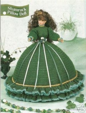 Shamrock Pillow Doll - Free Patterns - Download Free Patterns