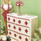 Annies Attic Barbie Size Doll Rose Dresser Plastic Canvas Pattern