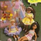 Annies Attic 9 1/2 Inch Doll Play Sets Crochet Pattern