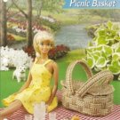Annies Attic Barbie Picnic Basket Plastic Canvas Pattern