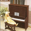 Fashion Doll Size Piano Plastic Canvas Pattern by Annies Attic
