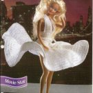 Marilyn Munroe Style Dress Crochet Pattern for Barbie Dolls
