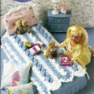 Annies Attic Mile A Minute Barbie Doll Size Afghan Pattern