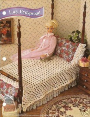 DOLL BEDSPREAD CROCHET PATTERNS | Crochet and Knitting