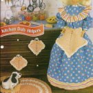 Annies Attic Apron Rug Pot Holders for Barbie Size Dolls