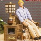 Annie&#39;s Attic Ken Doll Den Furniture Lamp Table Plastic Canvas Pattern
