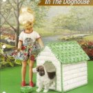 Plastic Canvas Doll Size Doghouse Pattern by Annies Attic