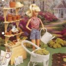 Fashion Doll Size Gardening Set Plastic Canvas Pattern