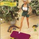 Annies Attic Fashion Doll Crochet Club Aerobics Set for Barbie Dolls