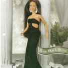 Annies Attic Pattern Barbie Doll Basic Black Dress Crochet Pattern
