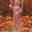 Annie's Attic: Barbie Fashion Doll Size Bunny Costume Crochet Pattern