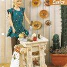 Barbie Doll Size Butcher Block Plastic Canvas Pattern