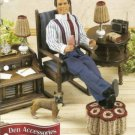 Ken Fashion Doll Size Den Furniture Crochet Pattern Annies Attic