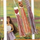 Annie's Attic Windsocks Heart Pumpkin Plastic Canvas Pattern