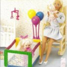 Doll Babys Playpen Plastic Canvas Pattern