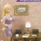 Elegant Artwork Miniature Doll House Plastic Canvas Pattern