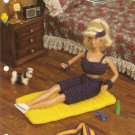 Annie's Attic Barbie Doll Size Yoga Mat and Outfit Crochet Pattern Annies Attic