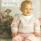 Adorable Babies Volume 3, 7 Knitting Patterns  for Babies and Toddlers