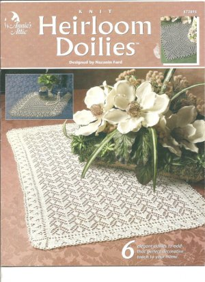 Annies Attic Crochet : Annies Attic Heirloom doilies, crochet patterns. 6 elegant doilies to ...