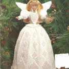 Paradise Victorian Crochet Christmas Angel Crochet Pattern