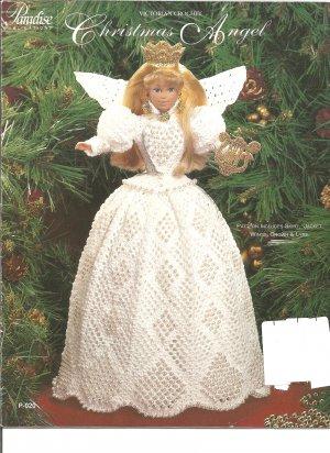 Paradise Victorian Crochet Christmas Angel Crochet Pattern