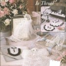 Leisure Arts 2308  Mini Outfits in Thread Crochet Shoes Dresses and more