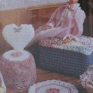 Annie's Attic Boudior Accessories, Fashion Doll Crochet Pattern