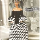 Annie's Attic, Evening Out Gown and Hat Crochet Pattern for Barbie Size Dolls