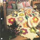 Annies Attic, Grandma`s Flower Garden Quilt Crochet Afghan Pattern
