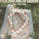Leisure Arts 2866, 12  Patchwork Afghans Crochet Patterns