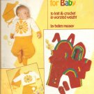 Leisure Arts 277, Sunshine and Rainbows Baby Knitting  and Crochet Patterns