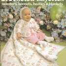 Leisure Arts 219, Crocheted Layette Patterns