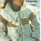 Bernat Danish Bulky Crochet Jacket Patterns