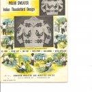 Bouquet 17, Men's Indian Thunderbird Graph Style Knitting Pattern