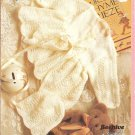Patons 1077, Babies Matinee Set with Shawl, Knitting Pattern