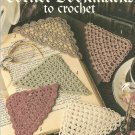 Crochet Corner Bookmarks  Patterns, Leisure Arts 2749