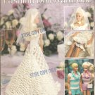 Barbie and Ken Size Clothes, Hawaiian HoneyMoon Crochet Patterns Leisure Arts 2132