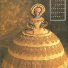 Annie's Attic Miss October 1991, Crochet Pattern for Dress and Bonnet