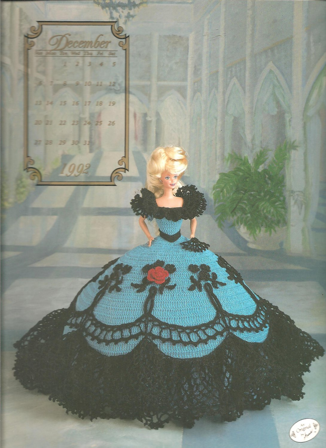 Annies Attic The Cotillion, Miss December 1992, Crochet Pattern for ...