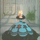 Annie's Attic The Cotillion, Miss December 1992, Crochet Pattern for Dress