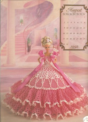 Annie's Crochet Pattern Royal Court Marie Antoinette items in Joy