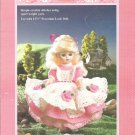 Fibre Craft, Amy , 11.5 Inch  Doll Dress Crochet Pattern
