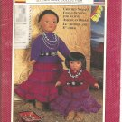 Fibre Craft World Friends Navajo Doll Outfits Crochet Pattern