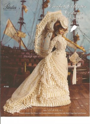 Crochet Collector Costume Volume 92, Lady By The sea