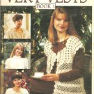 Leisure Arts 2499, Very Vests Book 1 Crochet Vest Patterns